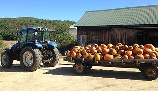 Beans & Greens Farm - farmstand Tractor