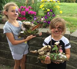 Beans & Greens Farm - fairyhouse girls facepaint