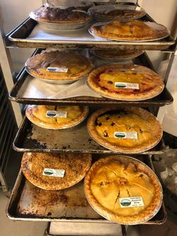 Beans & Greens Farm - Bakery Pie Racks