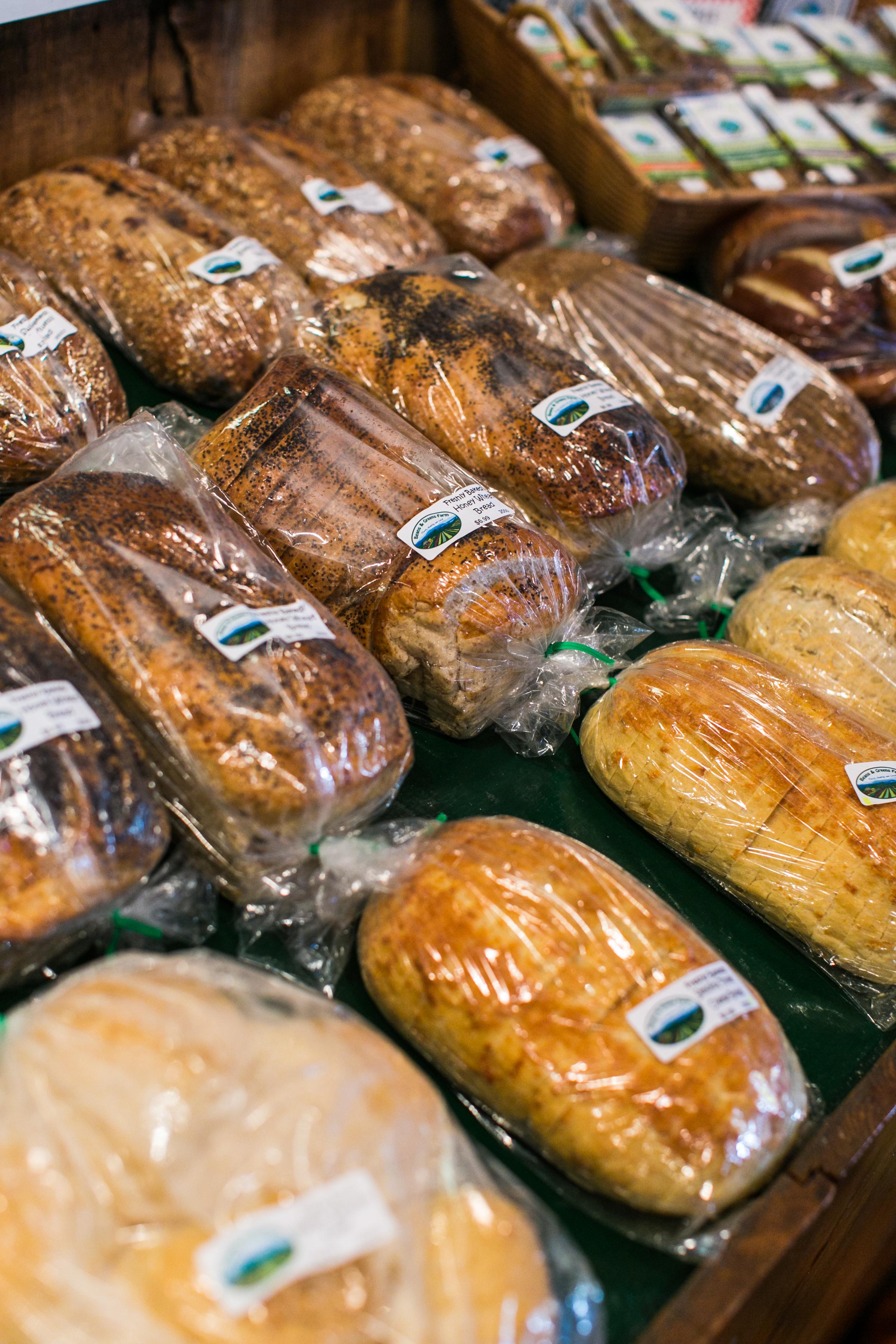 Beans & Greens Farm - Anne Skidmore - breads