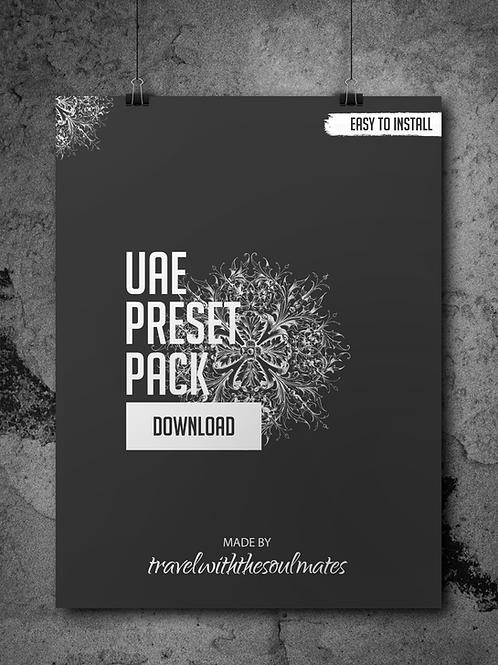UAE - Preset Pack