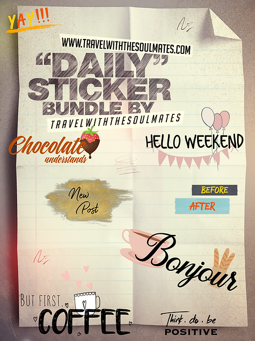 Stickers for Instagram - Daily