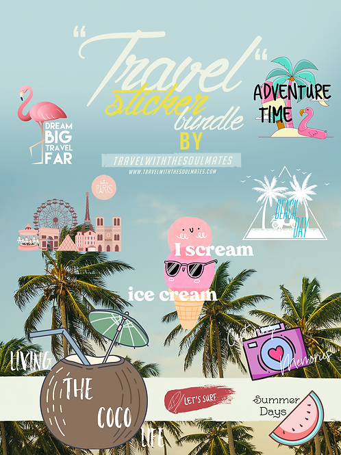 Stickers for Instagram - Travel