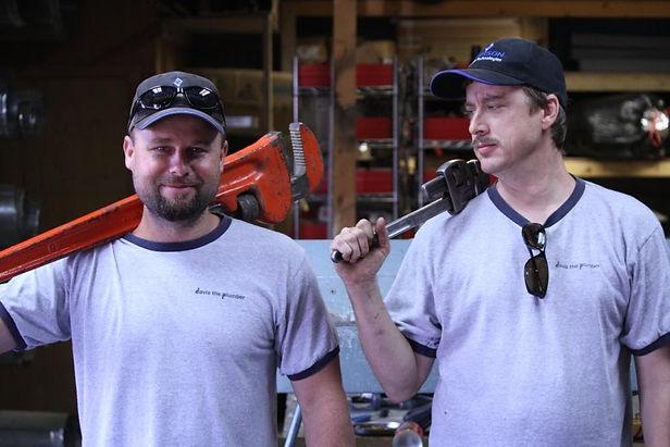 Davis the Plumber employment heating cooling plumbing Albuquerque AC Air Conditioning service repair
