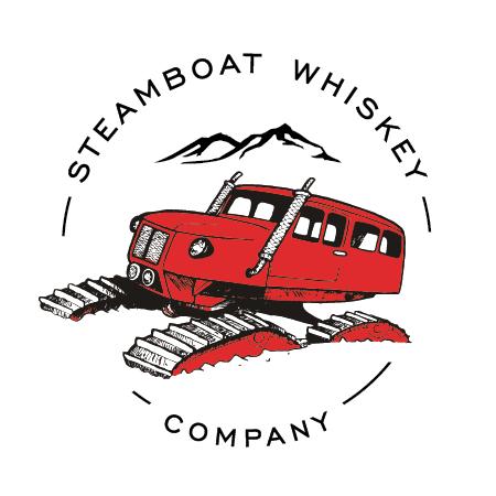 Steamboat Whiskey Co SnoCat Logo