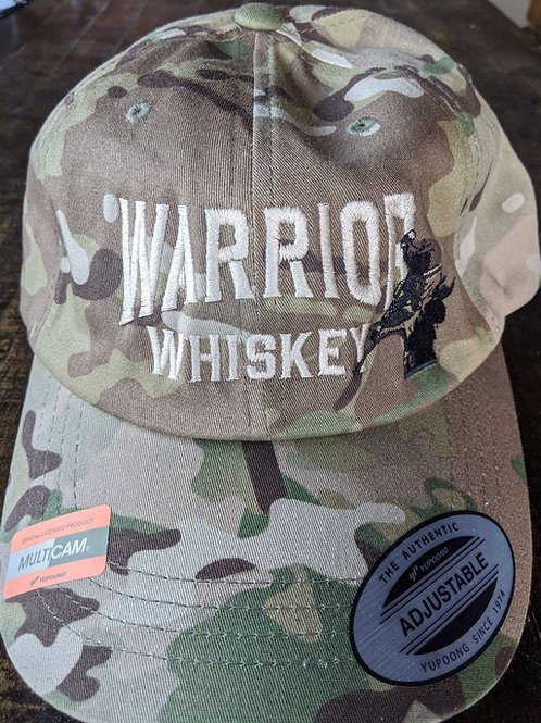 Camo Adjustable Warrior Whiskey Hat