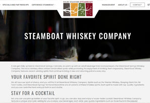 Steamboat Whiskey Company featured on the Four Seasons Steamboat website