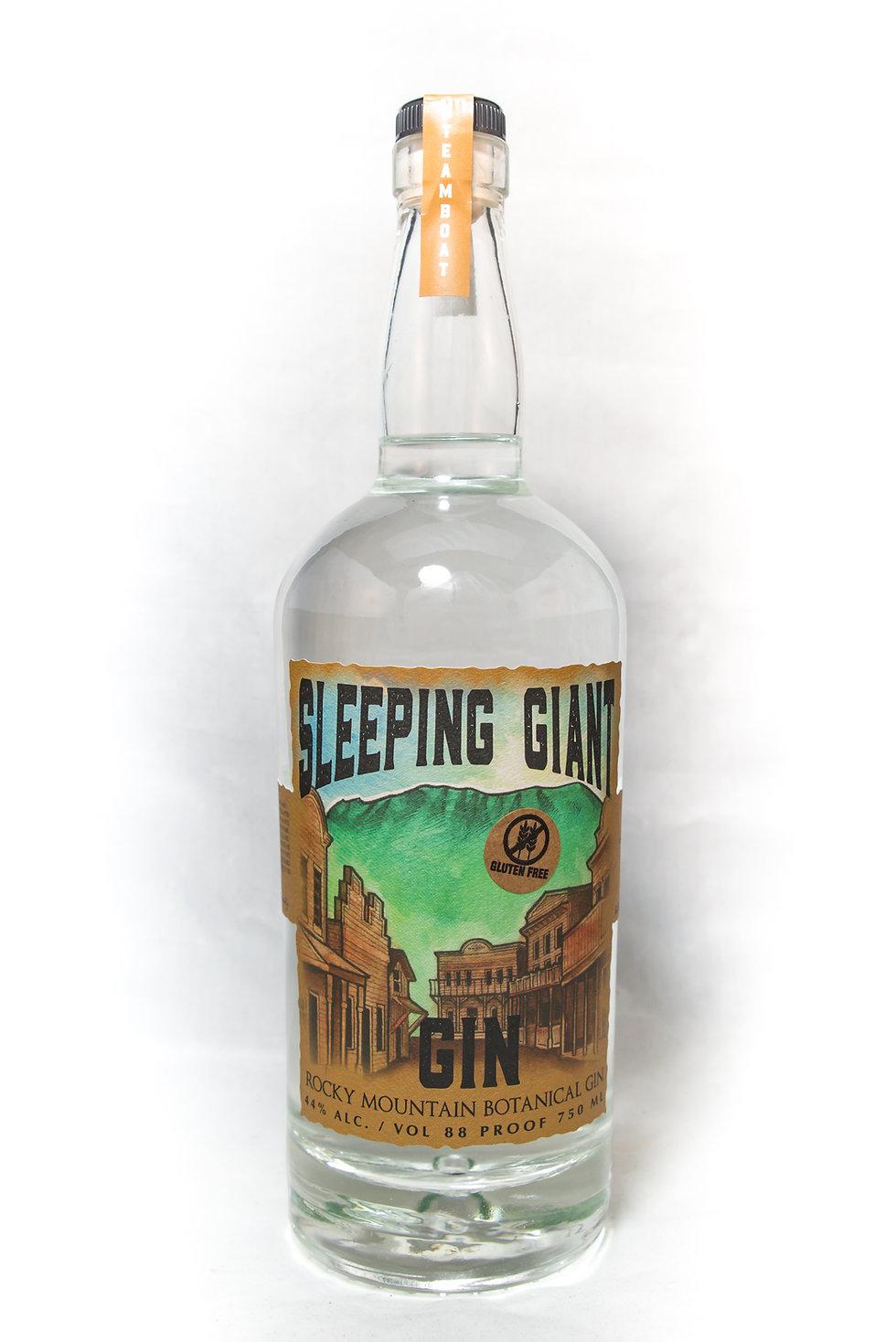 Steamboat Whiskey Company's Sleeping Giant Gin