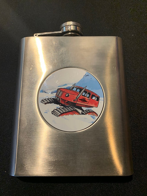Stainless Steel Snow Cat Flask