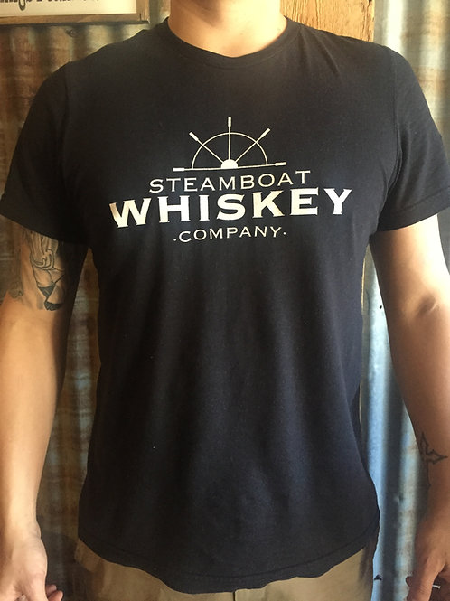 Men's Whiskey Warrior T-Shirt-Black