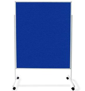Moderationstafel in blau