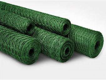Drahtzaun grün