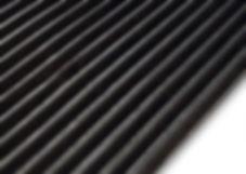 Gummiläufer Breite Rippen