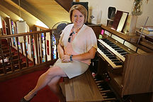 Leslie Lower, organist, lutheran, lcms organist, organ, christianity, lutheran church, clinton, mo, music