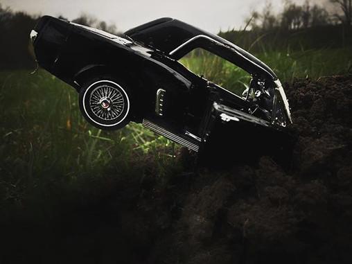 Car accident No 4 2019 50 x 70 cm Edition of 30 (+2 AP) Mounted on Plexiglas