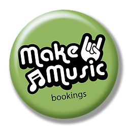 button Make Music Bookings MET SCHADUW.p