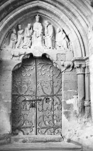 Portico en el antiguo enclave