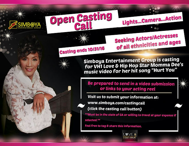 Casting Call For Momma Dee's New Music Video! | simboya