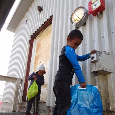 Réserve d'eau à tiniteqilaq
