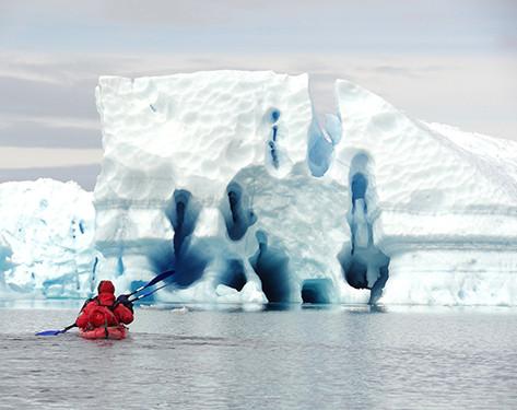 Iceberg à bédières