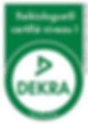 dekra, certification, reiki, reikibunseki, ffrt