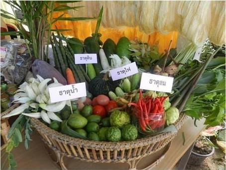 รับประทานอาหารต้านโรคภัยแบบไทยแท้ตามธาตุเจ้าเรือน