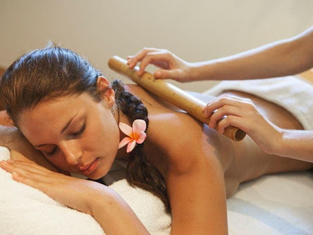 การนวดบำบัดด้วยไม้ไผ่ (Bamboo Massage Therapy)