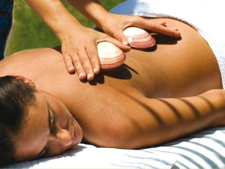 การนวดด้วยเปลือกหอย (Seashell Massage)