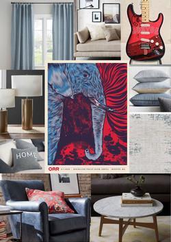 OAR Living Room Boston Design