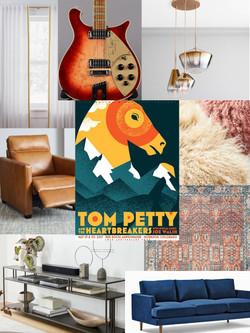 Tom Petty Living Room Red Rocks Design