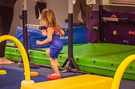Preschool gymnast