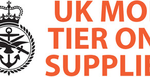 Approved Tier One Supplier to UK MOD