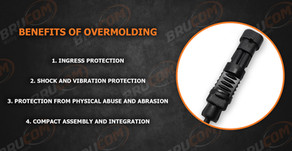 Benefits of overmolding