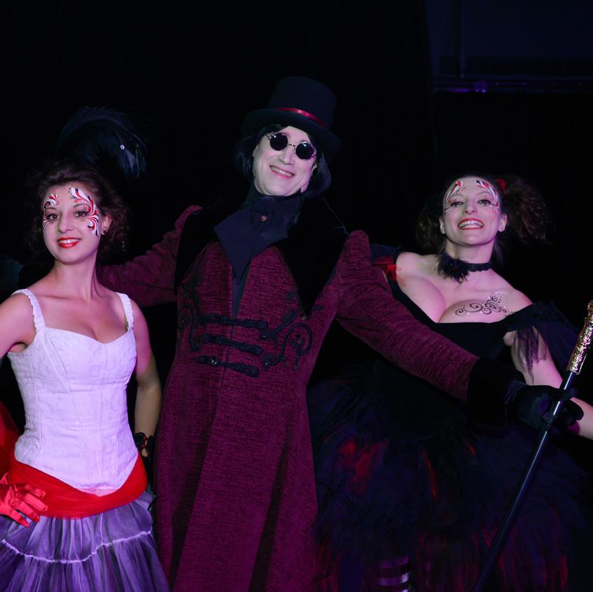 Accueil Cirque + Willy Wonka