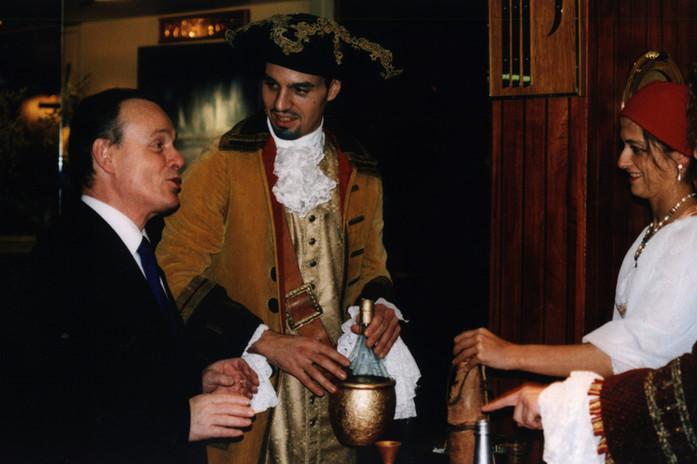 degustation de breuvage pirate avec vos invités