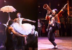 Cirque et acrobates