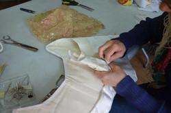 corset sur mesure, atelier de fabrication des costumes