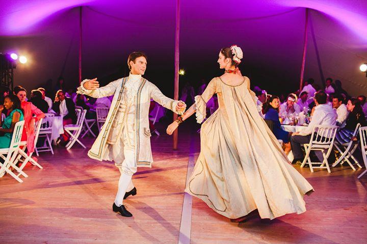 danse baroque démonstration de belle dan