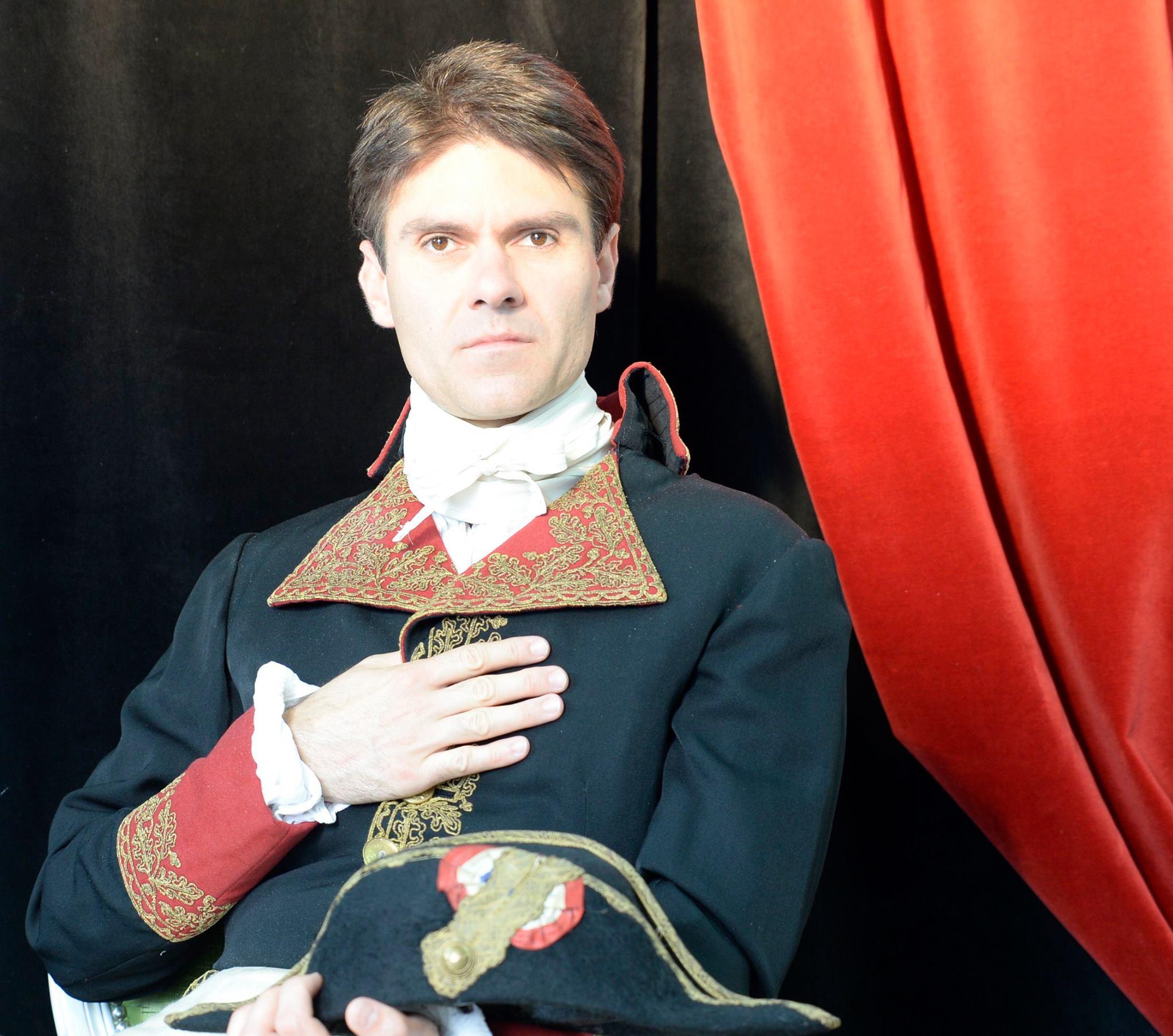 Visite théâtralisée / Napoleon I et les arts
