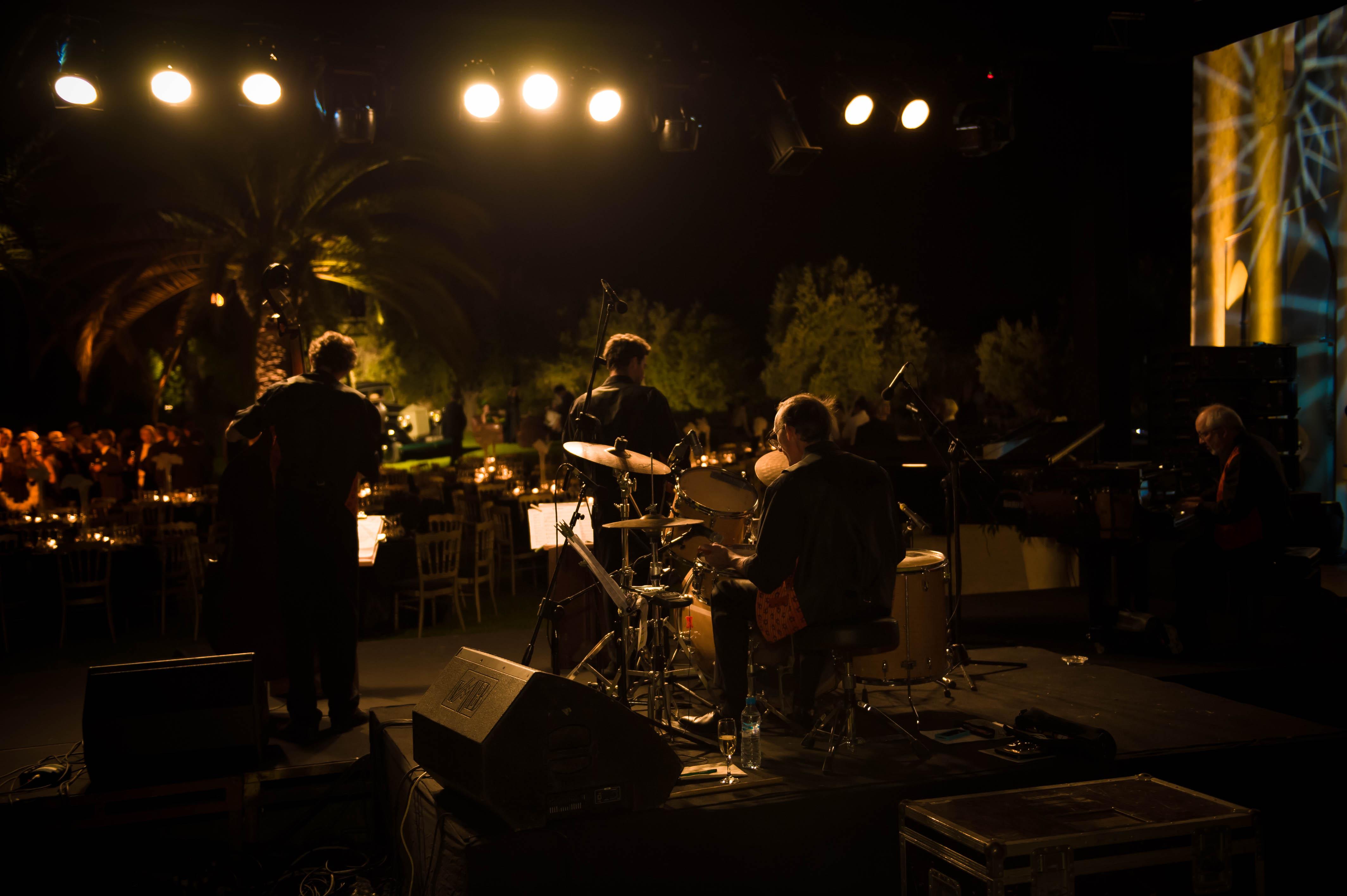 Groupe Jazz, soirée gatsby