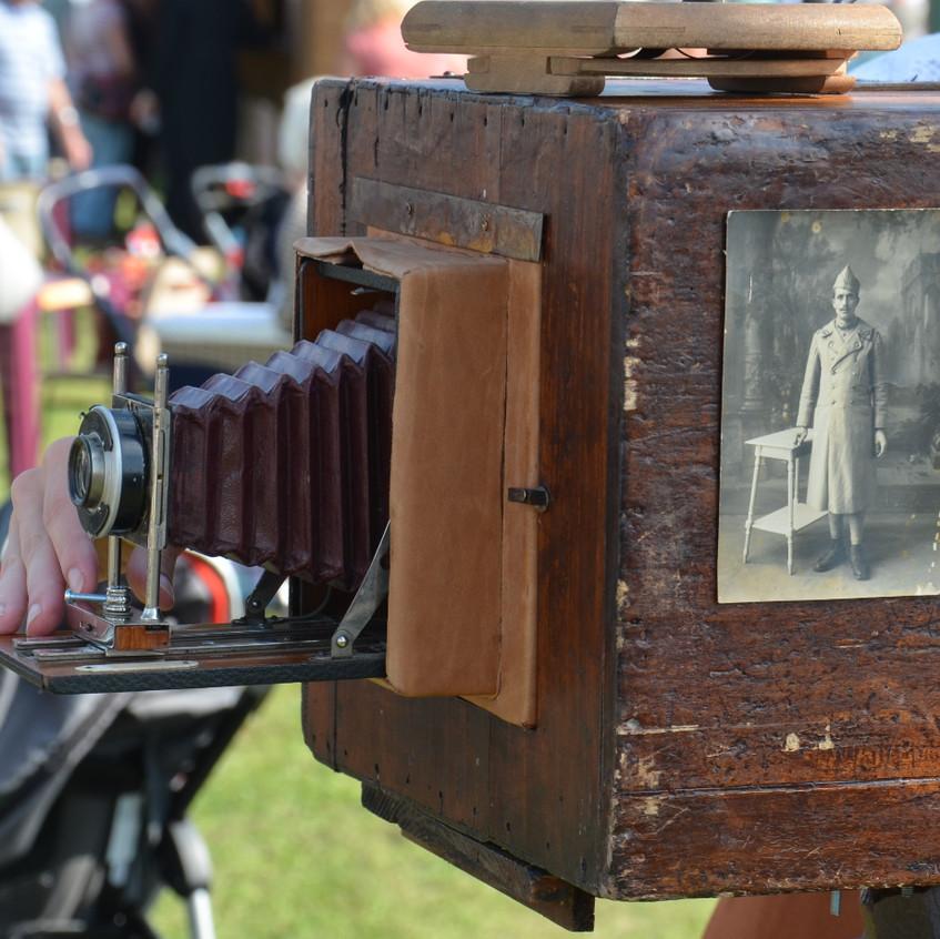 appareil photo à l'ancienne