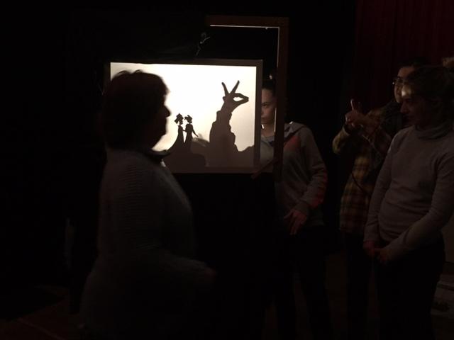 theatre d'ombre atelier theatre famille.