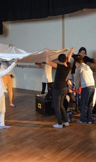 atelier découverte théâtre au StudiO d'Acta