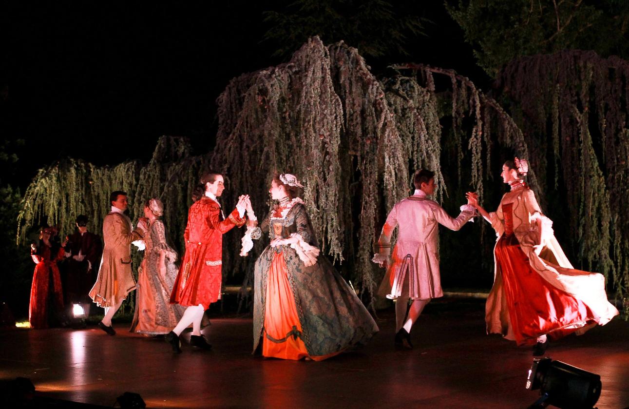 Carnaval de Venise Scène de bal baroque