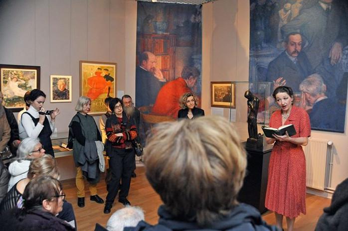 Visite théâtralisée d'exposition - musée