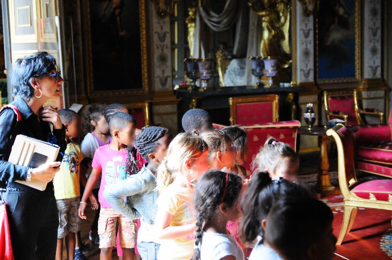 chateau de Compiègne médiation culturelle et visite théâtralisée
