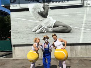 Nos Balles rebondissent dans les allées de Roland-Garros
