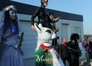 Parade Tim Burton à Viroflay pour les Offléries !