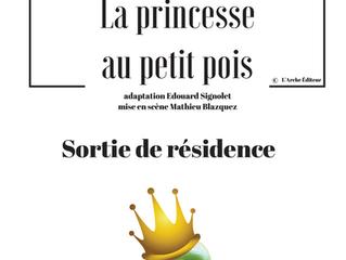 LA PRINCESSE AU PETIT POIS, SORTIE DE RESIDENCE cie Freaks.