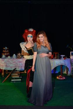 Alice et la Reine de Coeur